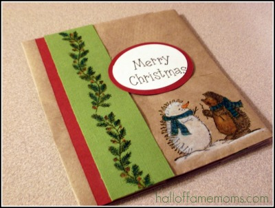 Paper bag Christmas Cards