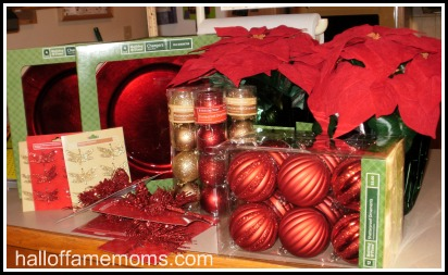 "My ""after-Christmas"" bargains for home decor and table settings."