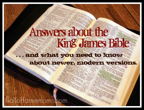 62 questions answered about the King James Bible [Is it really THE