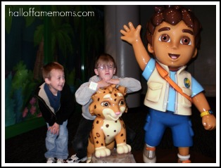 Cosi Science Center Review: Dora & Diego (Giveaway-ENDED)
