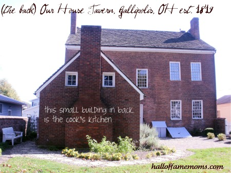 The Our House Tavern in Gallipolis, Ohio 1819