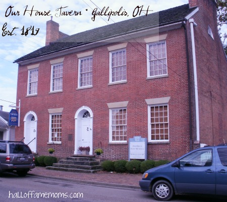Our House Tavern in Gallipolis, OH (& a 1784 Cookie Recipe)