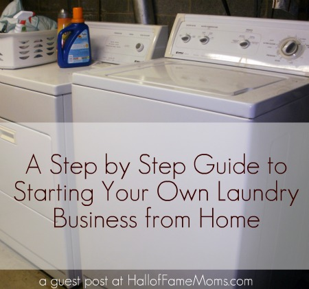 Steps To Starting A Laundry Business From Home