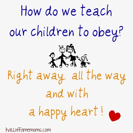 children obey free printable