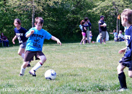 kids and soccer