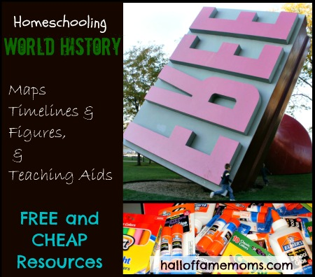 free homeschooling history and map printables