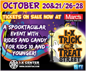 I-X Center's Trick or Treat Street and Ticket Giveaway
