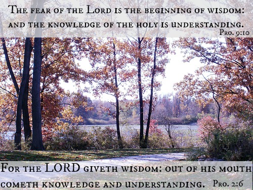 beginning of wisdom