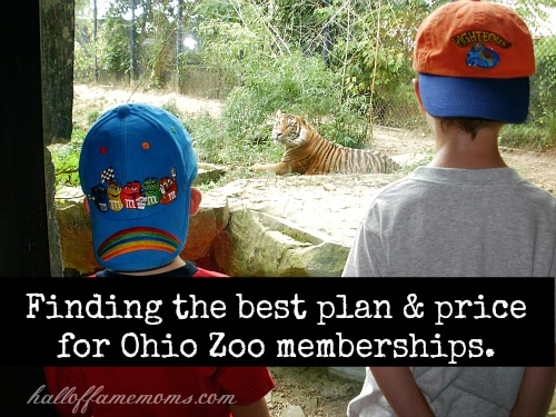 Best Ohio zoo membership for plan and price.
