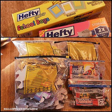 Store puzzles in ziplock bags.