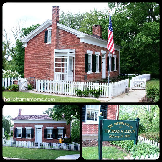 Thomas Edison S Birthplace Museum Milan Ohio 1000thingsohio