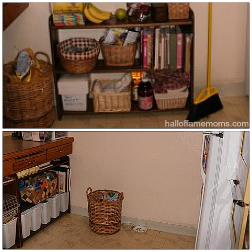 before and after kitchen pictures