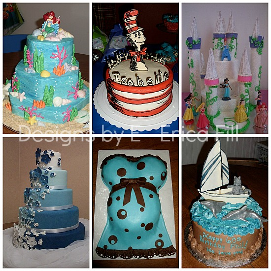 beautiful childrens birthday cakes made in Stark County