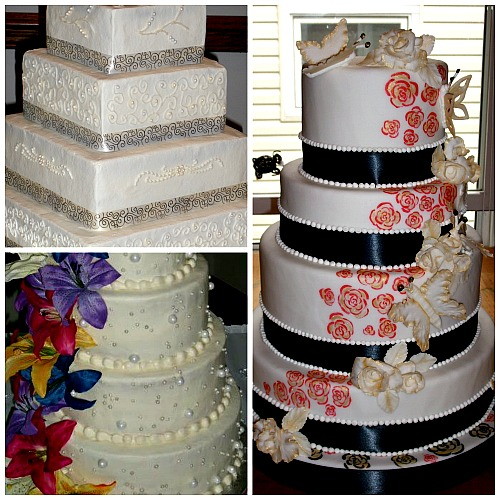 wedding cakes designs by E