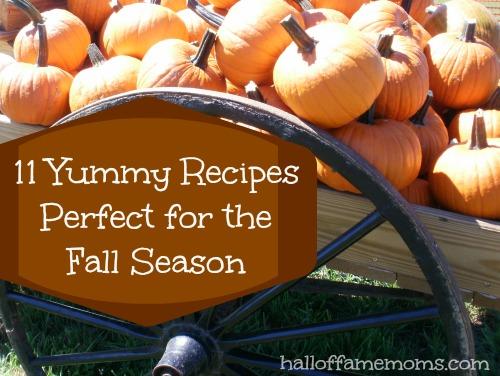 11 delicious fall recipes