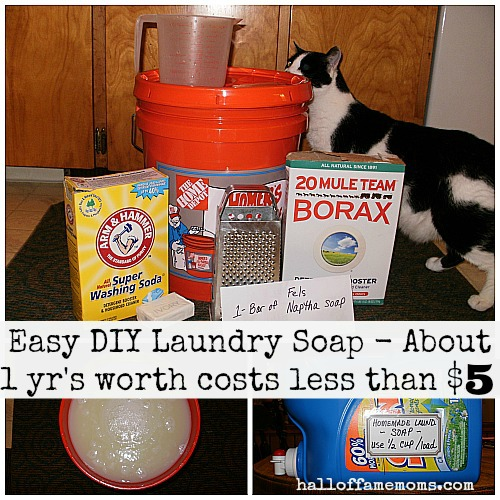 make your own cheap laundry soap