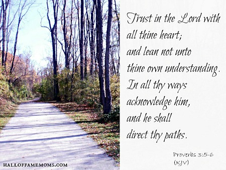 Trust in the Lord - Proverbs
