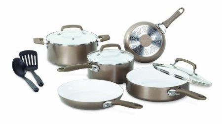 10 pc. WearEver Ceramic Cookware set