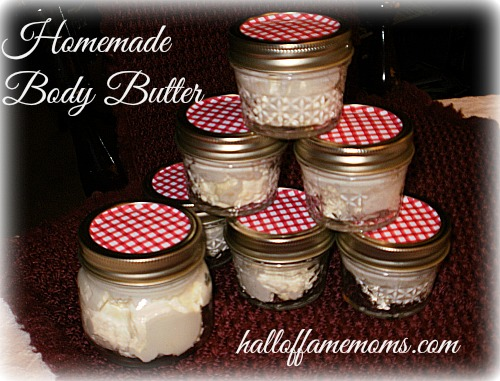 easy diy shea body butter