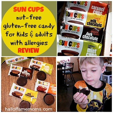 Sun Cups nut-free, gluten-free chocolate candy Review