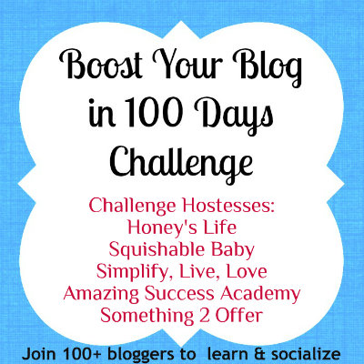 boost your blog challenge