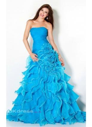 Beautiful Mermaid Prom Dresses 2014