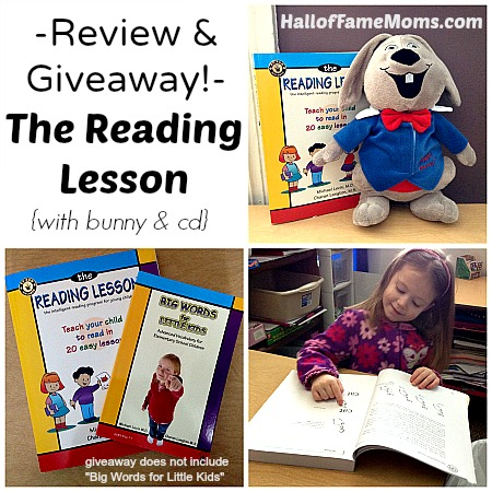 The Reading Lesson - review and giveaway.