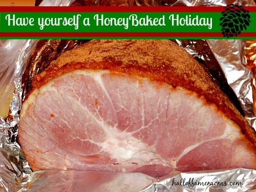 #HoneyBakedHoliday with HoneyBaked Ham