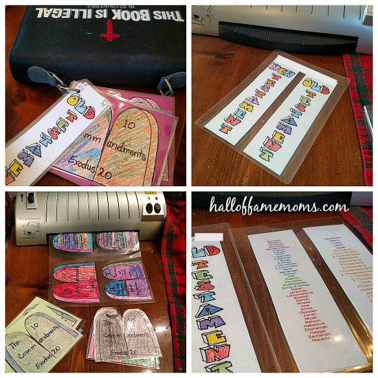 Easy Bible crafts: 10 Commandments, Books of the Bible - Hall of Fame ...