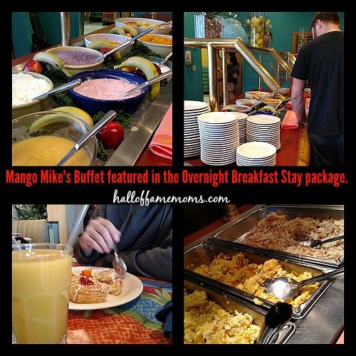 Castaway Bay breakfast buffet, Mango Mike's
