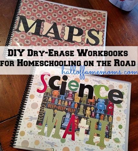 diy dry-erase workbooks for homeschooling