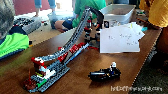 Lego Club group build challenge.