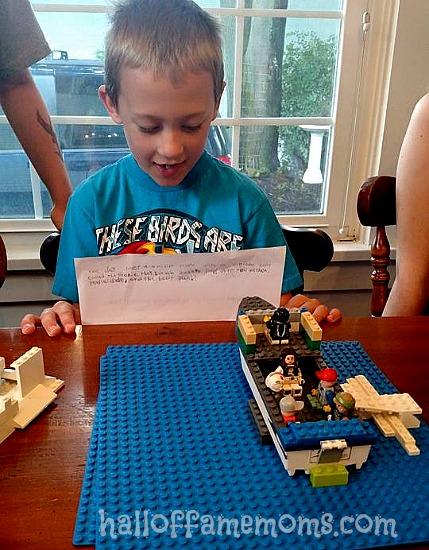 Lego club presentation