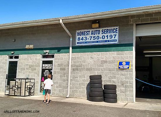 Honest Auto Service garage, Myrtle Beach.