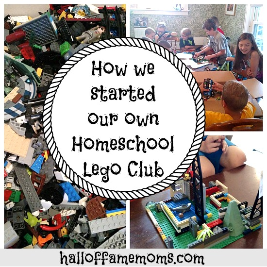 How to start a lego club in your home.
