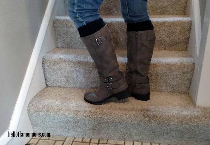 DIY No-Sew Boot Cuffs