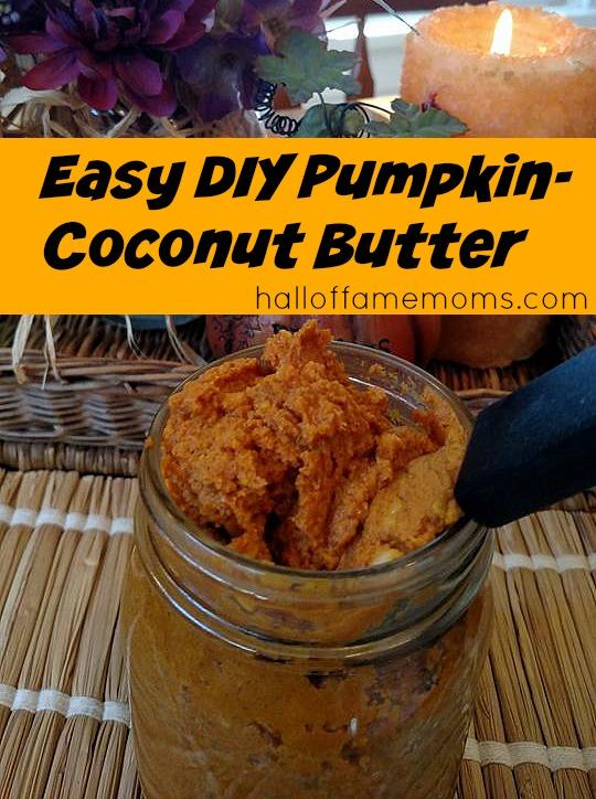 easy diy pumpkin coconut butter