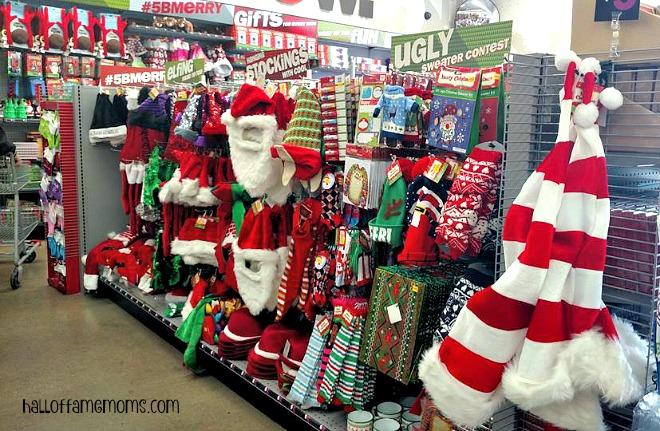 Santa stuff at Five Below #shop5b #ad