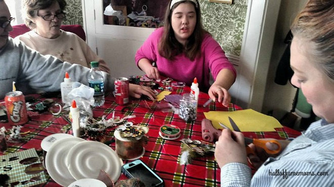 #diy family ornament making party