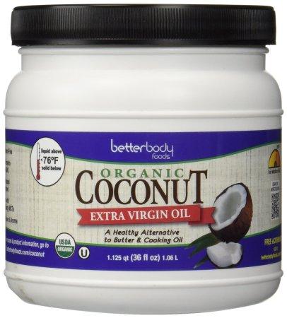 Organic coconut oil (afflink)