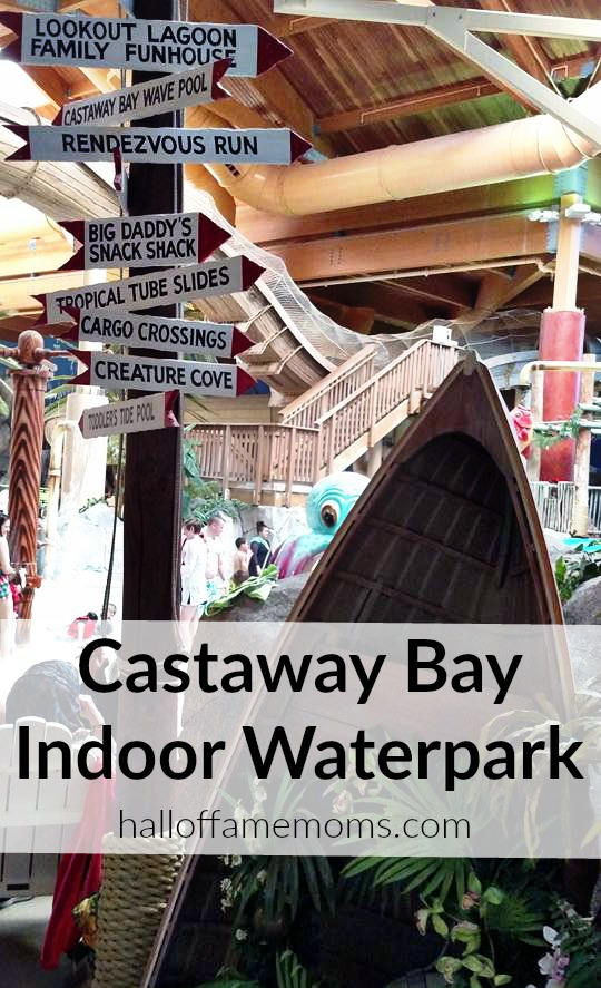 Castaway Bay Indoor Waterpark in Sandusky, Ohio