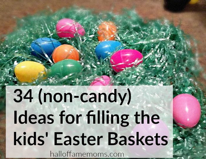 34 easter basket ideas alternatives to candy 34 non candy easter basket fillers negle Gallery