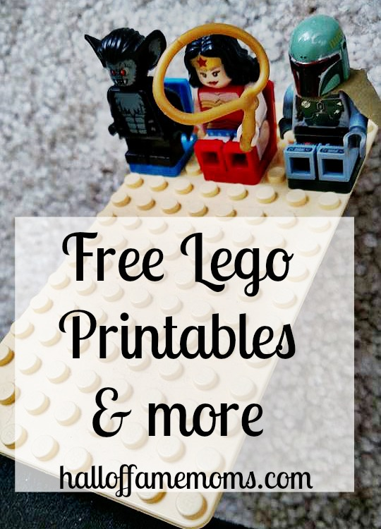Free Lego Printables and More