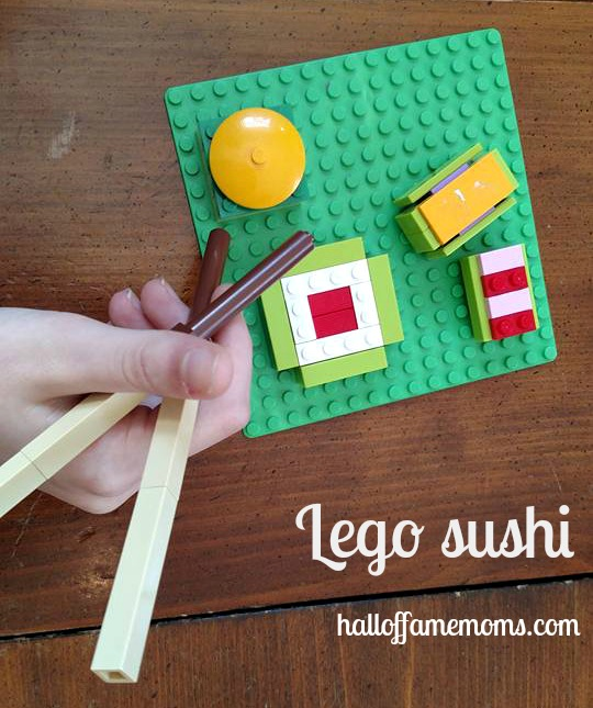 Picture Tour of our Homeschool Lego Club - with Sushi
