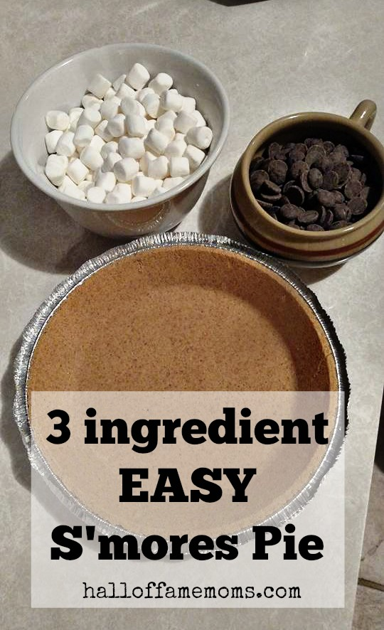 Easy S'mores Pie, all year round!