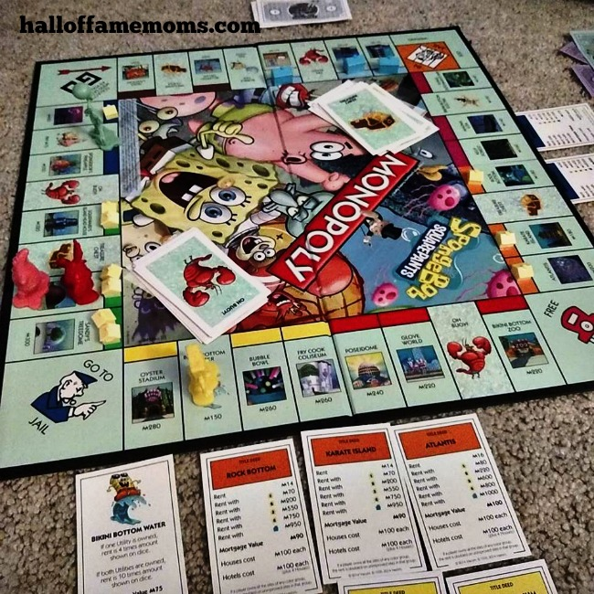 First things first. Sometimes that means family game over work.
