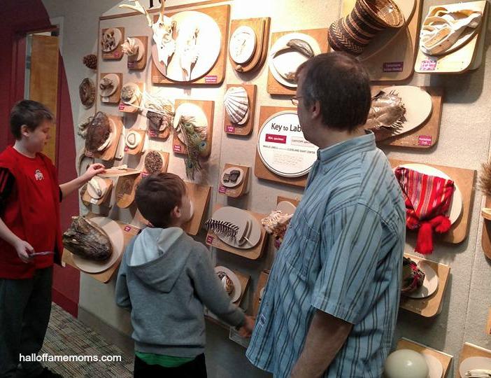 Cleveland Musuem of Natural History visit
