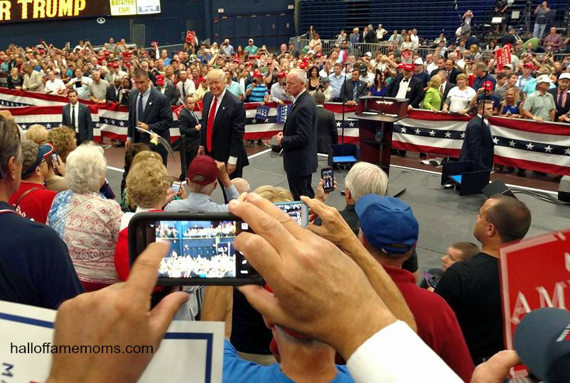 My experience attending the Trump rally in Akron, Ohio