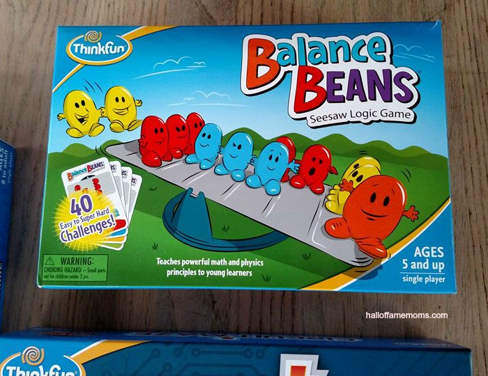 Balance Beans by Thinkfun - See our family's list of favorite games here!
