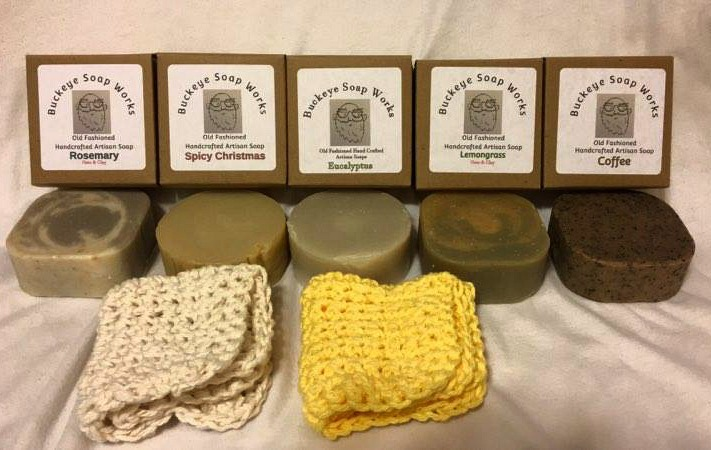 All natural Ohio Made Soap from Buckeye Soap Works